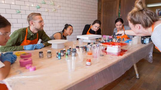 Resin Art Workshop - Brisbane, QLD
