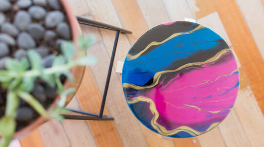 Resin Homewares Stool Masterclass - Melbourne, VIC