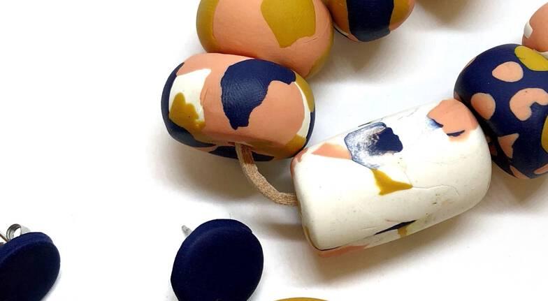Polymer Clay Jewellery Workshop - Newtown, NSW