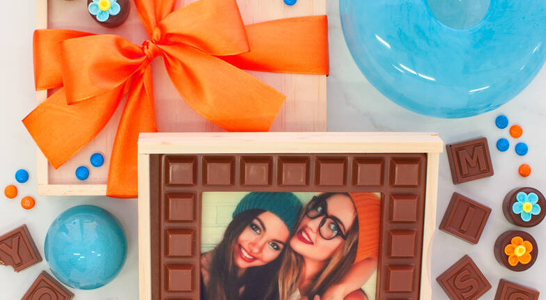 Personalised Photo Chocolate Block