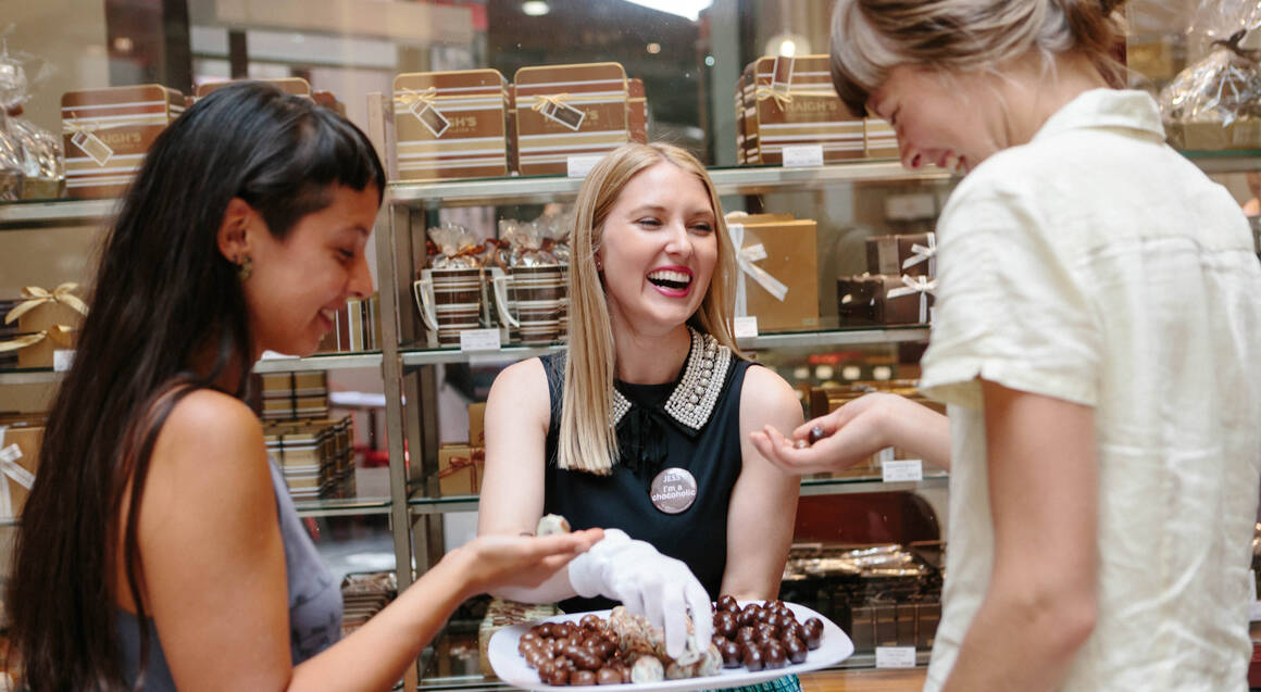 Melbourne Lanes and Arcades Chocolate Walking Tour