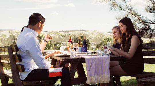 Private Tasting with Winemaker and 3 Course Lunch - For 2