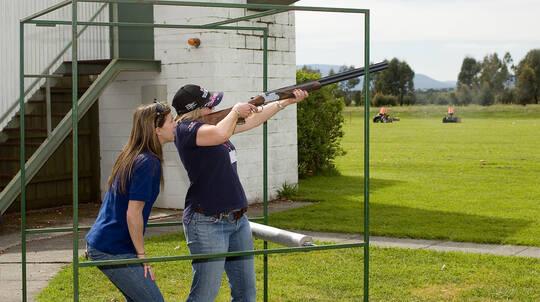 Clay Target Shooting - Yering, VIC