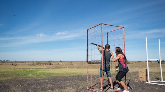 Clay Target Shooting - Quandong, VIC