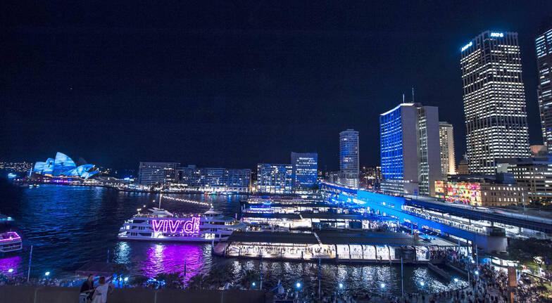 VIVID Lights Evening Cruise - Adult