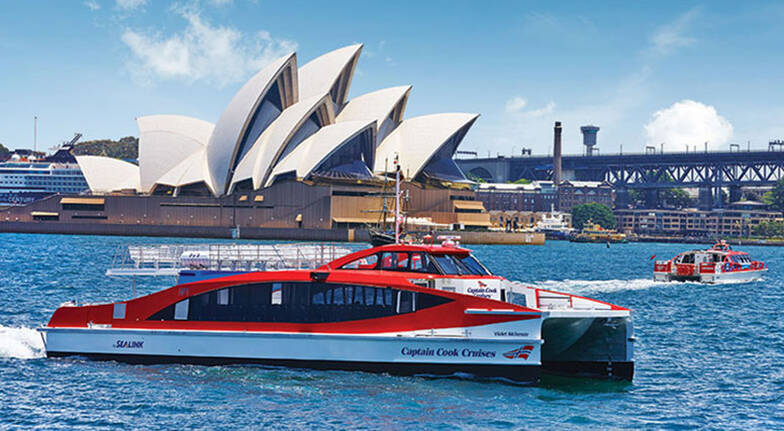 Sydney Harbour 1Day Hop On Hop Off Cruise Pass