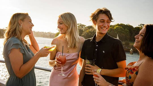 3 Course Sunset Harbour Dinner Cruise - For 2