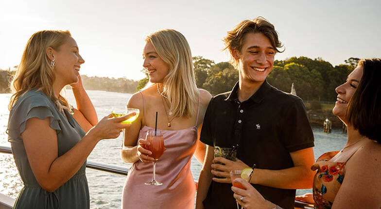 3 Course Sunset Harbour Dinner Cruise  For 2