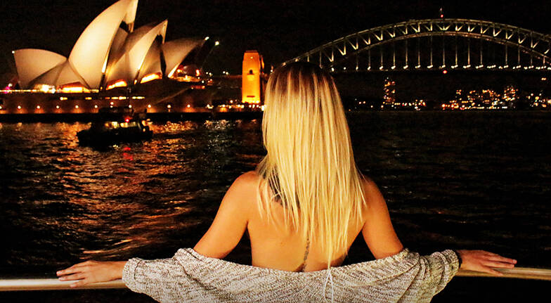 Sydney Harbour Cruise with Dinner and Live Music - For 2