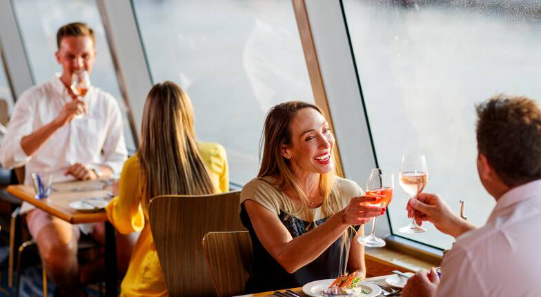 Sunset Harbour Cruise with 3 Course Dinner - Adult