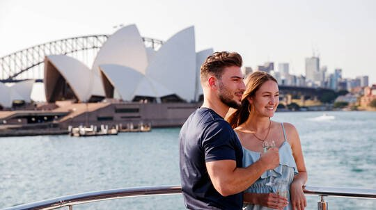 Sydney Harbour Cruise with 3 Course Lunch - For 2