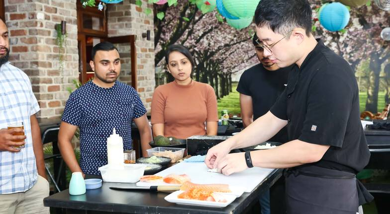 Sushi and Sashimi Masterclass - 2.5 Hours