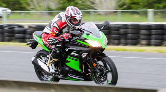 Kawasaki Motorbike Thrill Ride - VIC