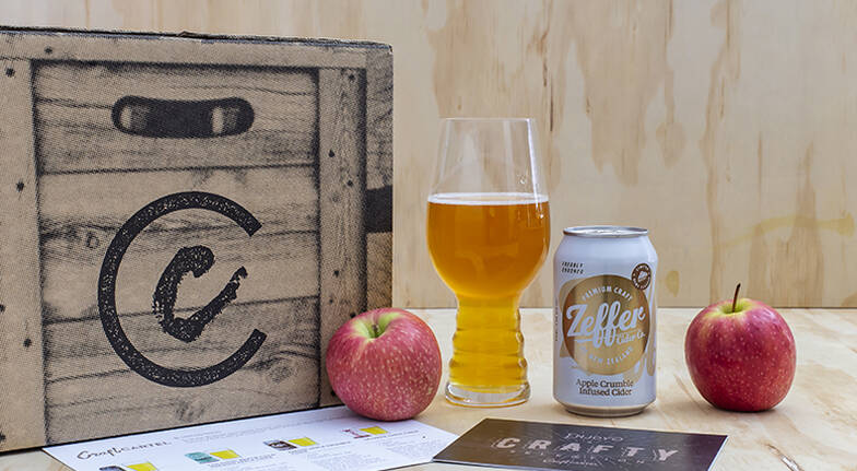 Small Batch Cider Box with Tasting Notes  8 Pack