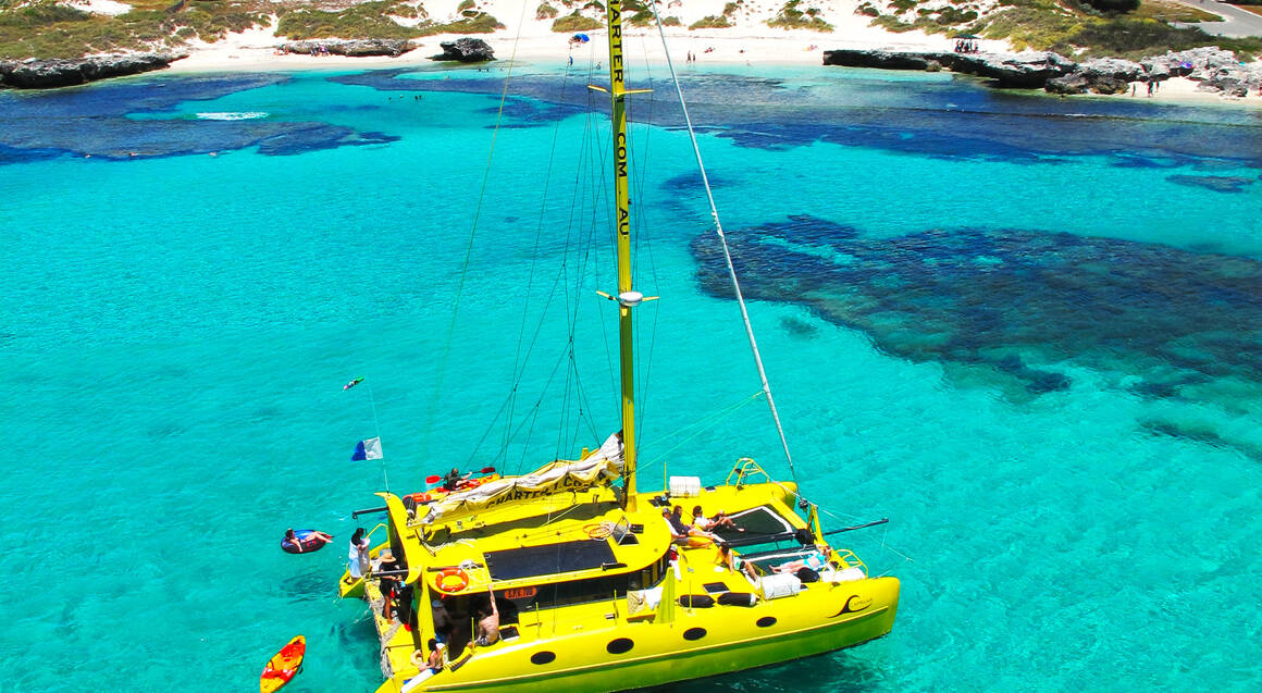 Sailing Catamaran to Rottnest Island - 1 Day