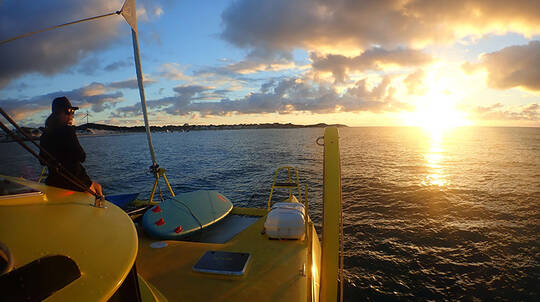 Rottnest Island Twilight Sail with Bubbles and Antipasto