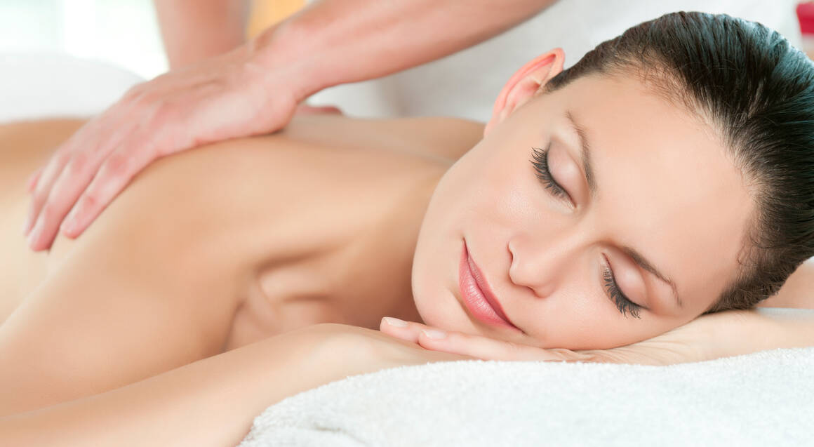 wellness facial and hot stone massage
