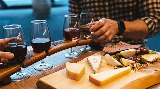 Wine and Cheese Pairing Experience - For up to 4