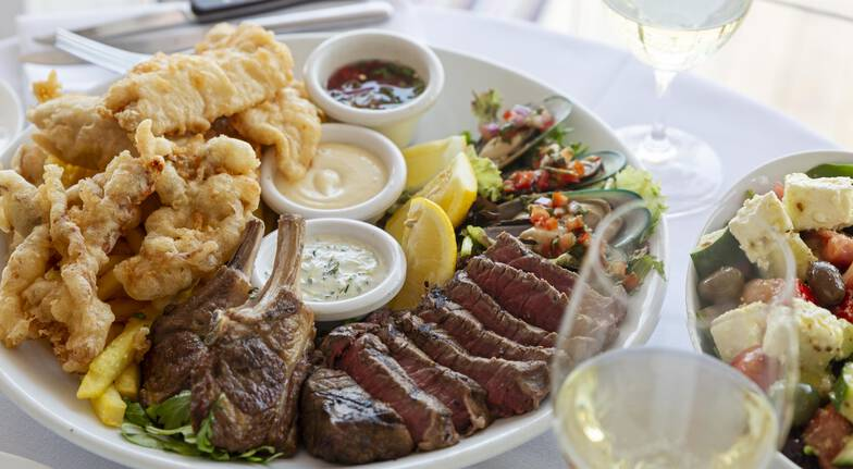 Mediterranean Dining Experience by the Harbour  For 2