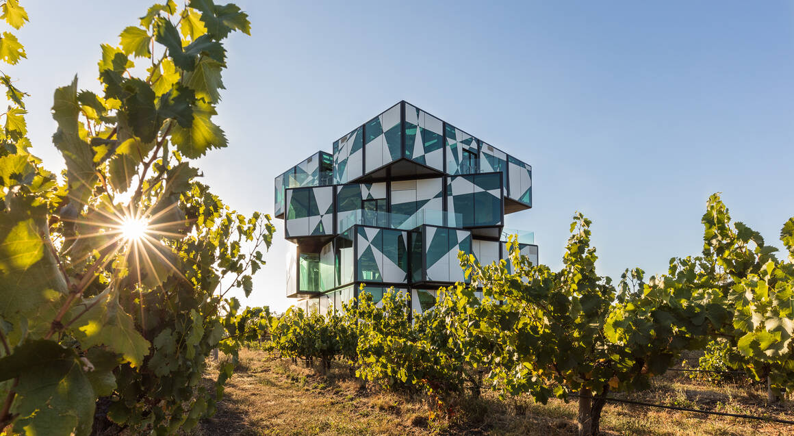 d'arenberg winery cube building