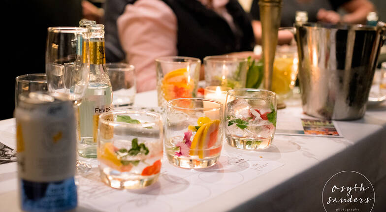 Private Gin Tasting with Five Course Banquet Dinner - For 2