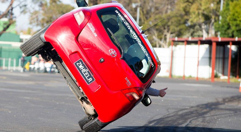 Stunt Driving Wild Ride Passenger Experience - Melbourne