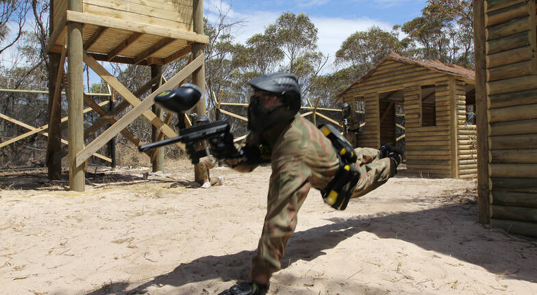 Paintball Experience - 500 Paintballs - Monarto, SA