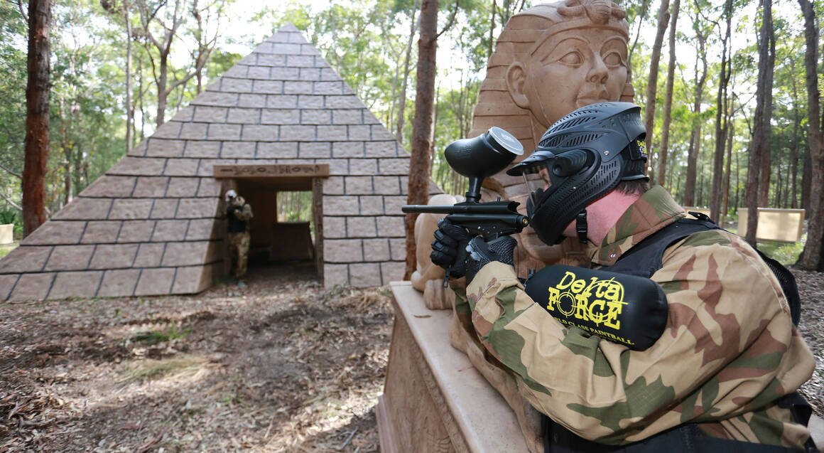 Delta Force Paintball newcastle location