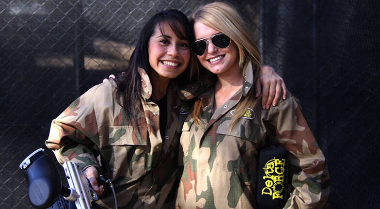 Group Paintball Experience  100 Paintballs  ACT