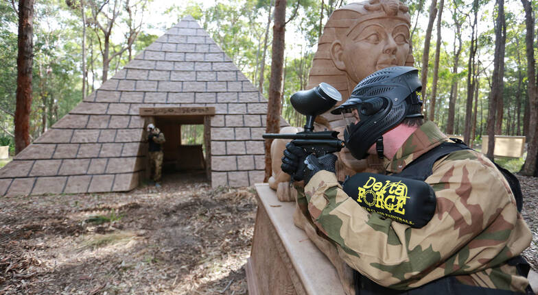 Paintball Experience  500 Paintballs  Newcastle  For 2