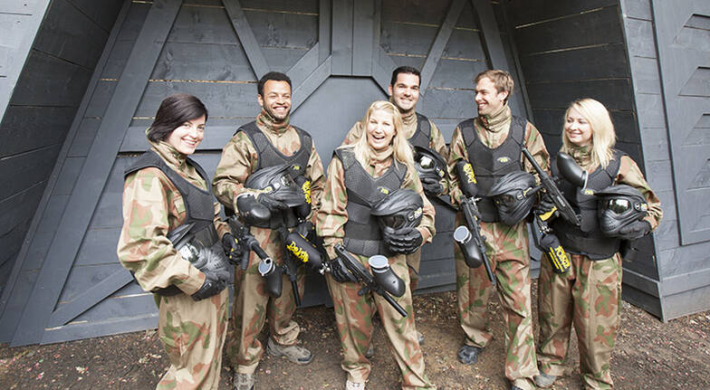 Paintball Experience  For 6  Newcastle NSW