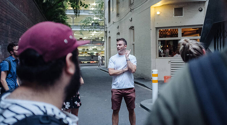 Melbourne Laneways and Hidden Bar Tour with Dinner - 3 Hours