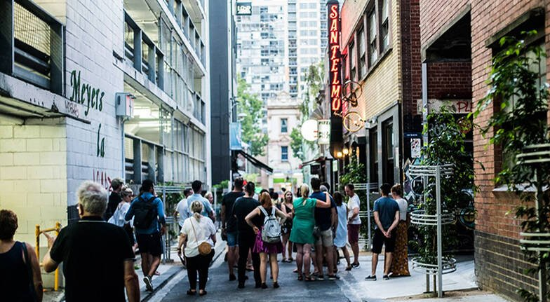 Melbourne Laneways and Hidden Bar Tour with Dinner  3 Hours