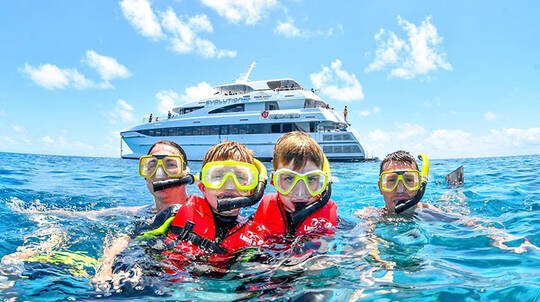 Great Barrier Reef Cruise and Snorkelling with Levy