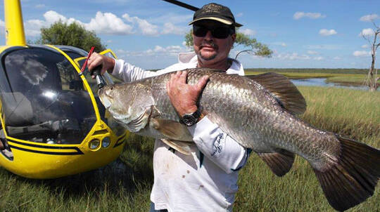 Darwin Private Full Day Heli Fishing Tour - For 2