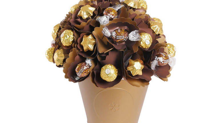 Hazelnut Heaven Bloom Bouquet