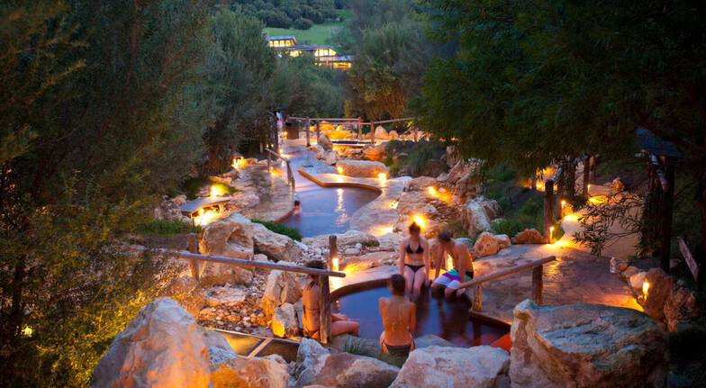 Shea Butter Massage and Peninsula Hot Springs Bathing Pass