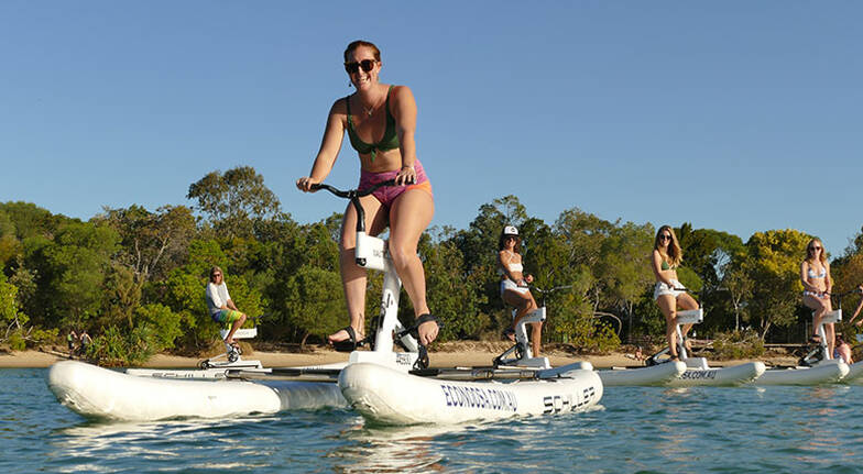 Noosa Water Bike Self Guided Tour  30 Minutes