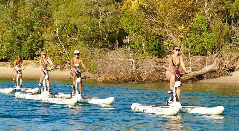 Noosa Water Bike Self Guided Tour  2 Hours