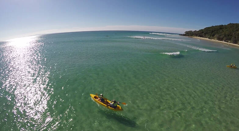 Rainbow Beach Wildlife Kayak Tour and 4WD Adventure