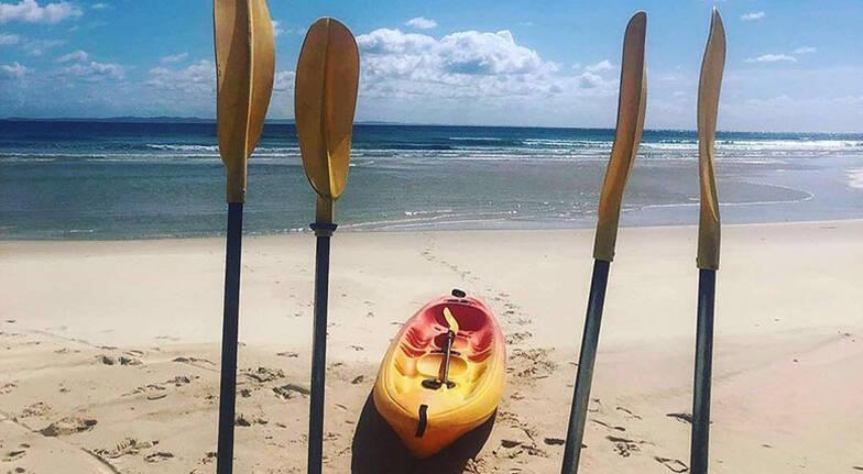 Rainbow Beach Kayaking Tour  2 Hours