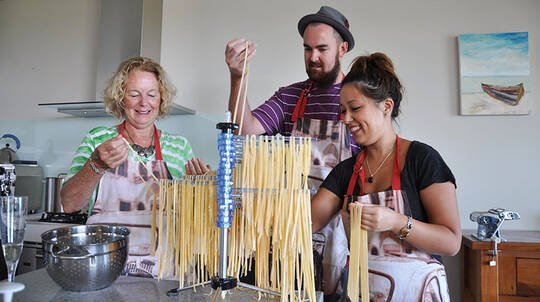 Italian Cook and Dine Experience with Wine - For 6