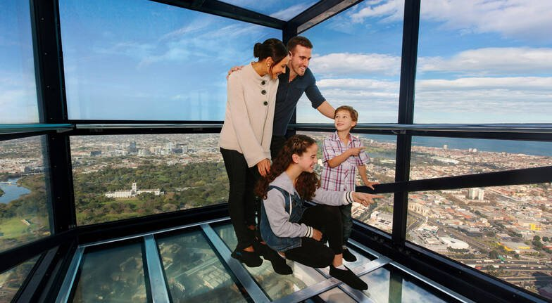 Eureka Skydeck and the Edge Experience