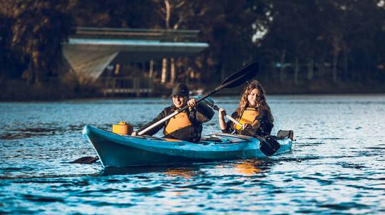 Adelaide City Guided Kayak Tour - 90 Minutes