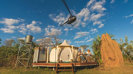 1 Night Top End Tour with Glamping, Flight, Cruise and More