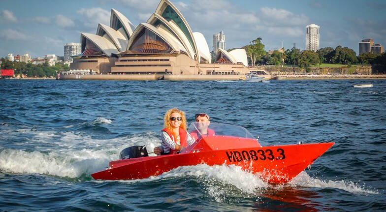 Guided Sydney Harbour Self-Driven Boat Grand Tour For 2
