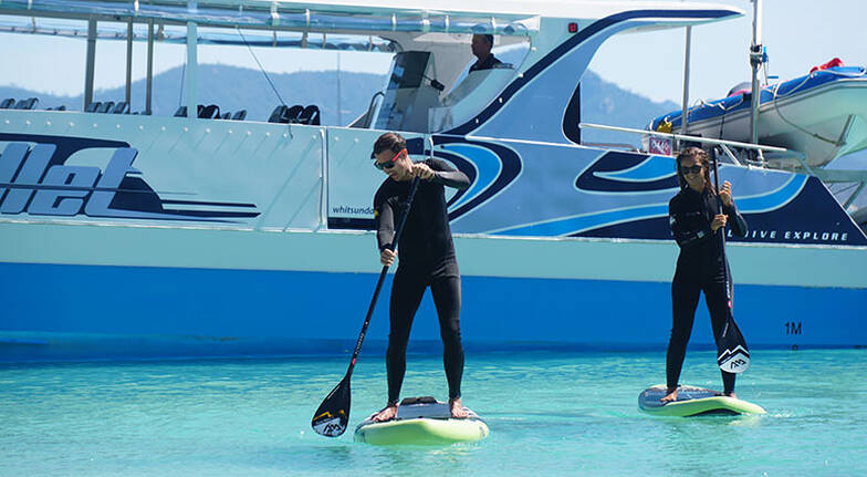 Whitsunday Bullet Tour with Lunch, Snorkelling and More