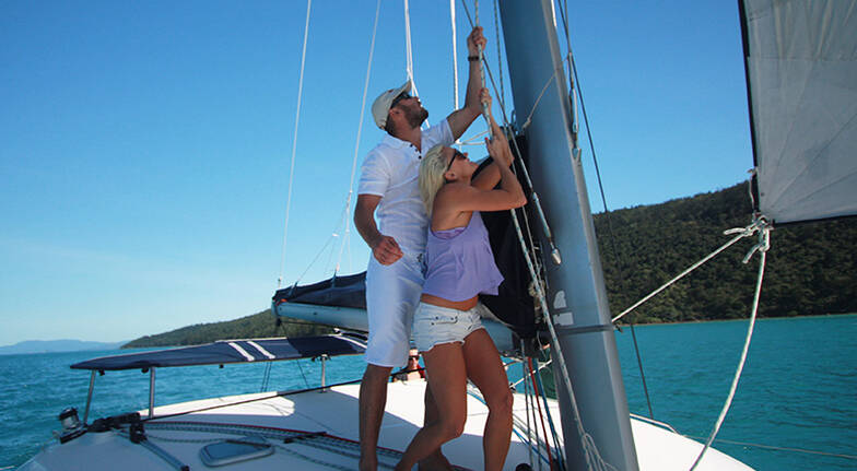 3 Night Whitsunday Sailing Experience with Meals  For 2