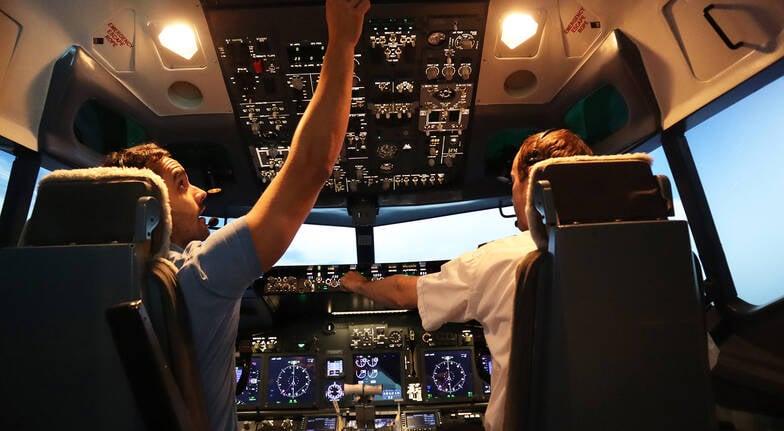 Boeing 737800 Simulator Flight  90 Minutes  Parafield SA