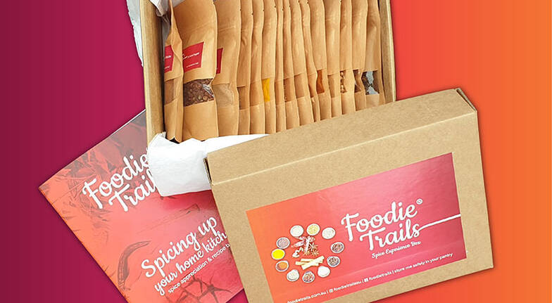 15 Spices Gift Box with Recipes and Online Lessons